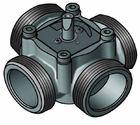 """купить 4-ходовой смесительный клапан Meibes Elomix ЕМ4-25Е-4 Ду25 (Kvs 4 м.куб./час), подключение 1 """"НР"""