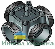 """4-ходовой смесительный клапан Meibes Elomix ЕМ4-20Е-2,5 Ду20 (Kvs 2,5 м.куб./час), подключение 3/4 """"НР"""