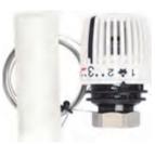купить Термостатическая головка 320 F N с Выносным датчиком диапазоном р-ки 6-27 С