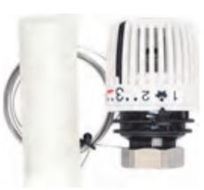 Термостатическая головка 320 F N S с Выносным датчиком диапазоном р-ки 6-27 С