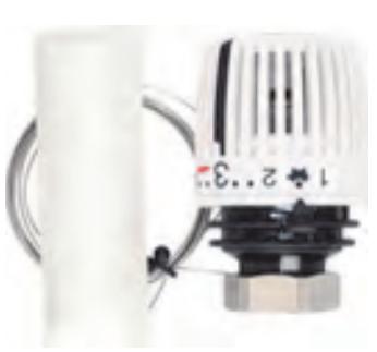 Термостатическая головка 320 F N с Выносным датчиком диапазоном р-ки 6-27 С