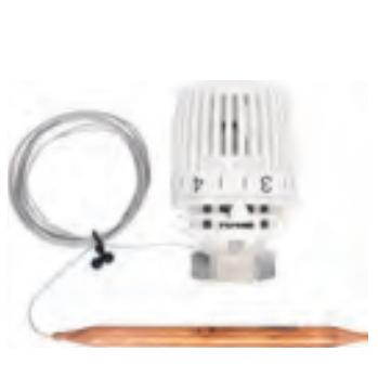 Термостатическая головка 320KH FA с Выносным датчиком диапазоном р-ки 20-50 С цены