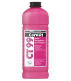 купить Ceresit CT 99 Грунтовка с антимикробной добавкой (канистра 1 л)