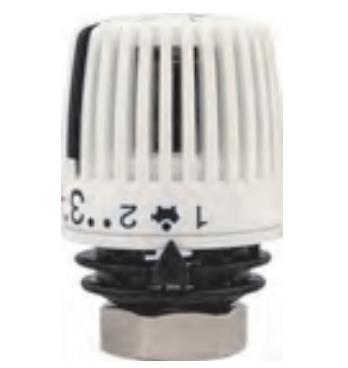 Термостатическая головка 320 с Встроенным датчиком диапазоном р-ки 6-26 С
