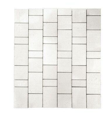 Тротуарная плитка Старый город (белый) (8 см) цена