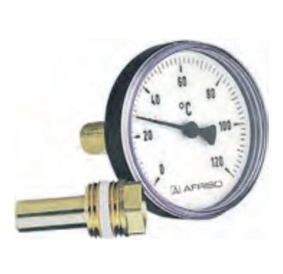 "Термометр Bith K, корпус 100 мм, шток 200 мм, T 0…120°C, соед. 1/2"" акс., к.т. 2,0 цена"