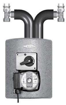 Meibes смесительная группа Thermix El с насосом Wilo Pumpe HU 15/4-2-3