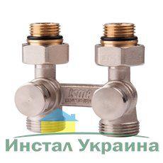 ICMA двухтрубный сдвоенный вентиль 912 1/2`х3/4` прямой (шестигранник)
