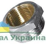 581 Переход-футорка нар.-вн. 1 1/2 Rх1/2 R НИКЕЛЬ Valtec