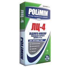 Polimin ЛЦ-4 самовыравнивающийся пол М200, слой 3-15 мм