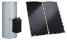 Сонячний колектор Vitosol 200-F с насосом с частотным регулированием, модулем SM1 и бойлером Vitocell 100-B/-W тип CVBA (серебристый)