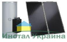 Сонячний колектор Vitosol 200-F с насосом с частотным регулированием, регулятором Vitosolic 100 SD1 и бойлером Vitocell 100-B/-W тип CVBA (серебристый)