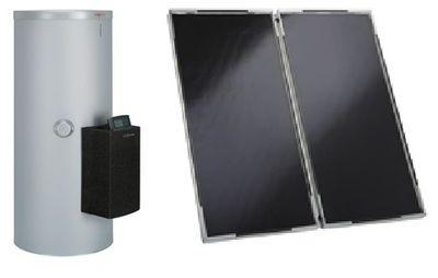 Сонячний колектор Vitosol 200-F с трехступенчатым насосом, регулятором Vitosolic 100 SD1 и бойлером Vitocell 100-B/-W тип CVBA (белый) цена