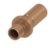 TECEflex Переходник (прес) на медную трубу, удлиненный, пайка внутренняя 20(18)x22Cu