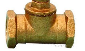 Oventrop Обратный клапан бронза Ду20 3/4`, 1075006