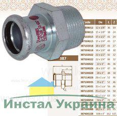 """Муфта 2""""1/2 НР х76 STEEL"""