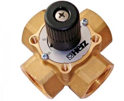 4-ходовой смесительный клапан Herz DN 25 цена