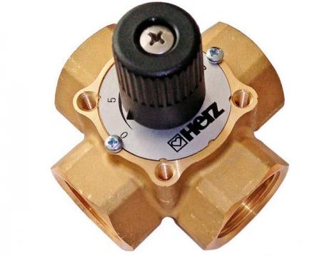 4-ходовой смесительный клапан Herz DN 25