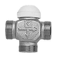 Трехходовой термостатический клапан Herz CALIS-TS DN 15 цена