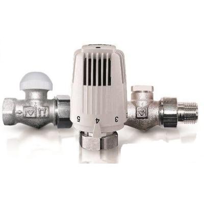 Herz Комплект для подключения радиатора Classic прямой (TS-90 DN 15, RL-1 DN 15) цены