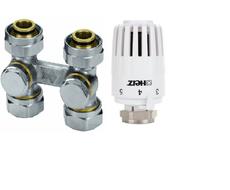 Herz Комплект для подключения радиатора Project D прямой (3000 G 3/4)