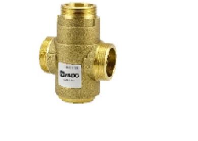 """Трехходовой антиконденсатный клапан Fado 1*1/2"""" 55 °С Kv 9"""