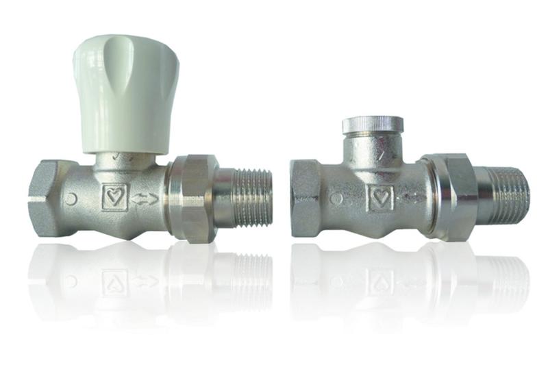 Комплект для подключения радиатора Herz GP+RL-1 прямой