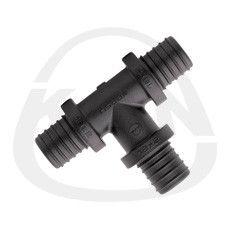 KAN-therm Тройник Push PPSU 18x2,5/14x2/18x2,5 (9018.720) цены
