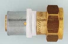 Пресс-переходник с плоской прокладкой Herz 26x3 G 1