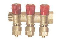 Pexal Valsir коллектор соединительный с вентилями на два вывода 3/4х2х16