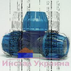 Тройник полиэтиленовый 90 DN 63х63х63