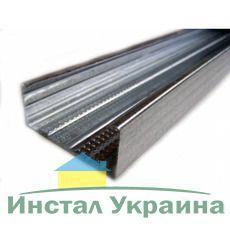 Профиль CW100, проф. несущий для перегородок 0.55мм/3м