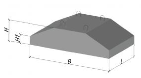 Фундаментный блок ФБС 9.4.6Т В25