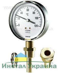 Cewal Термометр Д63 0/60°С 5см вертикальный