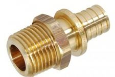 """Heat-PEX Муфта с наружной резьбой (материал - латунь) d16 x G 1/2"""" (2002161) цена"""