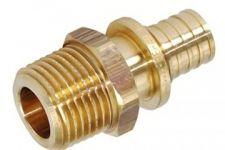 """Heat-PEX Муфта с наружной резьбой (материал - латунь) d16 x G 1/2"""" (2002161)"""