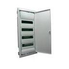 купить HAGER Щит встроеный VOLTA 4 ряда 48+8 модулей стальные двери без клемм IP30 (VU48UA)