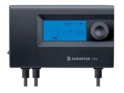 Euroster 11E Термоконтр. управл.насосом ЦО или бака-акк.ГВС, система Антистоп, ЖК экран, датчик темп.  цена