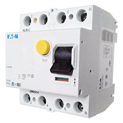 Eaton Дифференциальный выключатель напряжения PF6-25/4/0,03 (286504) цены