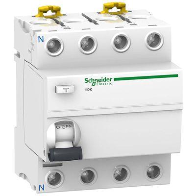 Schneider electric Дифференциальный выключатель напряжения iID K 4P 40A 30мА AC (A9R50440) цена
