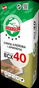Anserglob ВСХ-40 Клеевая смесь для пенополистирола и минеральной ваты цена