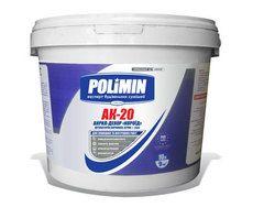 Polimin АК-20 Акрил-Декор Короед белая структурная штукатурка зерно 2 мм.