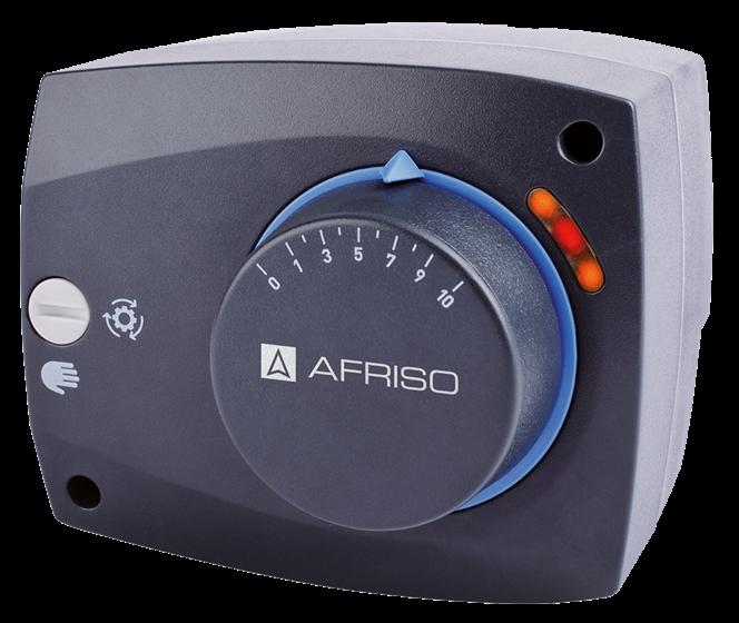 Электрический привод AFRISO ARM843 230В 120сек. 6Нм 2 точки c доп. концевым выкл. (1484300)