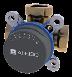 "AFRISO ARV386 клапан 3-ходовой Rp 1 1/2"" DN40 kvs 26 (1338600)"