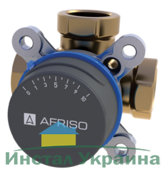 "AFRISO ARV384 клапан 3-ходовой Rp 1"" DN25 kvs 12 (1338400)"