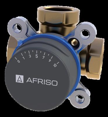 "AFRISO ARV388 клапан 3-ходовой Rp 3/4"" DN20 kvs 4 (1338800) цены"
