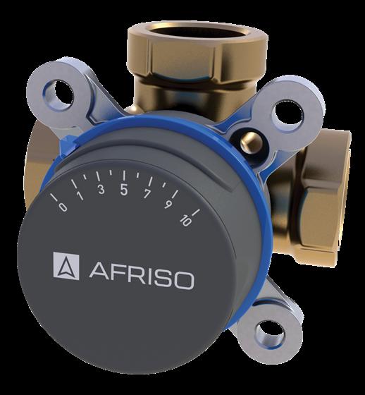 "AFRISO ARV388 клапан 3-ходовой Rp 3/4"" DN20 kvs 4 (1338800)"