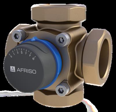 "AFRISO ARV483 клапан 4-ходовой Rp 1"" DN25 kvs 8 (1348300) цена"