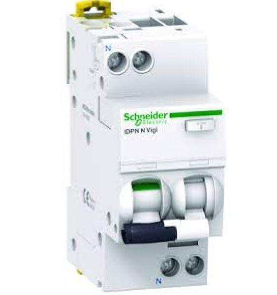 Schneider electric Дифференциальный автоматический выключатель iDPN N VIGI 6KA 10A C 30MA (A9D31610)