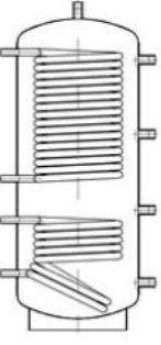 Теплоаккумулирующая емкость Теплобак ВТА-1-500